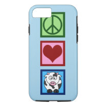 Blue Cow iPhone 8/7 Case
