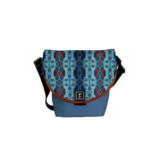 Blue Coyote Courier Bag
