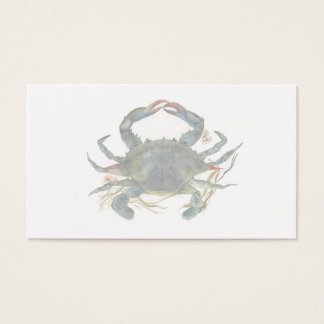 Blue Crab Business Card 2