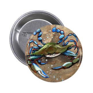 Blue Crab Pins