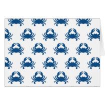 Blue Crab Card