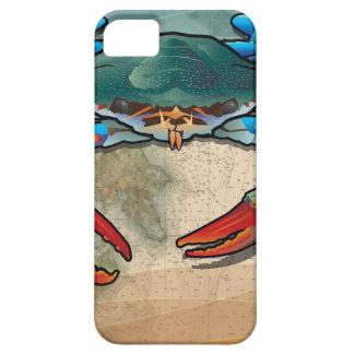 Blue Crab iPhone 5 Case