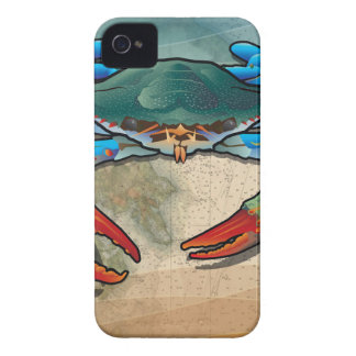 Blue Crab iPhone 4 Covers