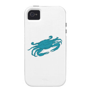 Blue Crab Case For The iPhone 4