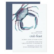 Blue Crab | Crab Feast Invitation