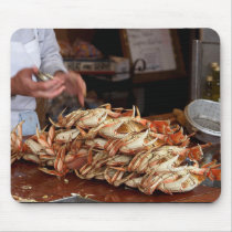 Blue Crab Feast Mouse Pad