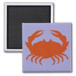 Blue Crab Fridge Magnet