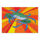 Blue Crab Greeting Cards