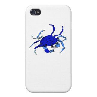Blue Crab iPhone 4 Case