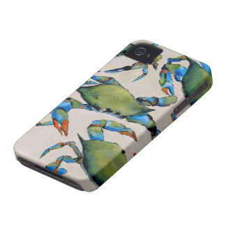 Blue Crab IPhone case iPhone 4 Covers