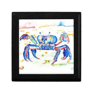 Blue Crab Jewelry Box