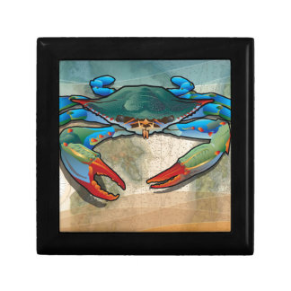 Blue Crab Keepsake Box