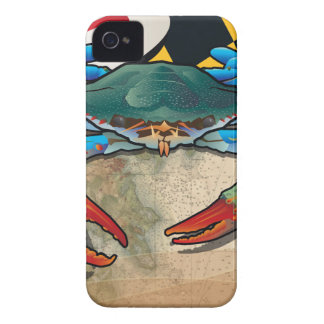 Blue Crab of Maryland iPhone 4 Case-Mate Case