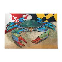 Blue Crab of Maryland Doormat