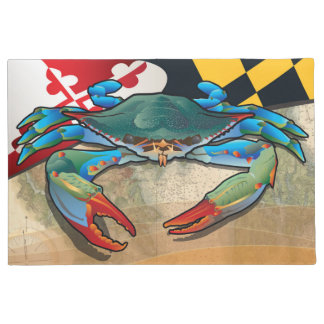 Blue Crab of Maryland Doormat