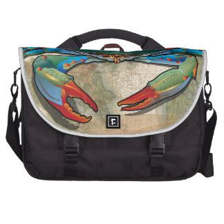 Blue Crab of Maryland Bag For Laptop
