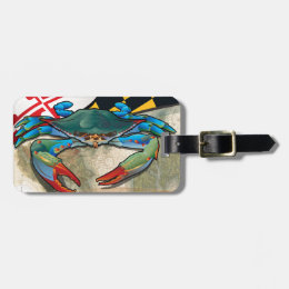 Blue Crab of Maryland Luggage Tag