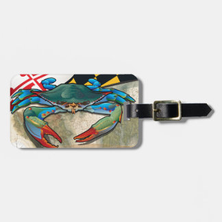 Blue Crab of Maryland Luggage Tag
