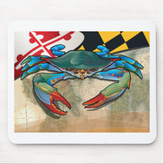 Blue Crab of Maryland Mouse Pad