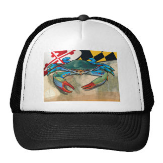 Blue Crab of Maryland Trucker Hat