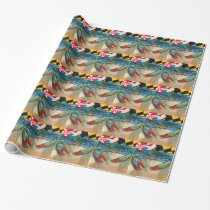 Blue Crab of Maryland Wrapping Paper