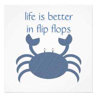 Blue Crab Photo Print