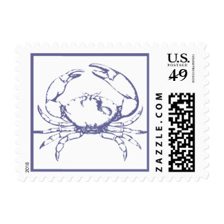 Blue Crab Postage Stamps