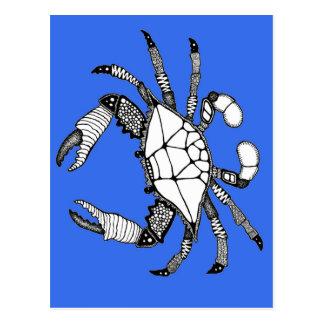 Blue Crab Postcard