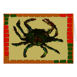 Blue Crab Quilt Cards
