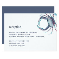 Blue Crab Reception Enclosure Card