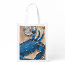 Blue Crab Reusable Grocery Bag
