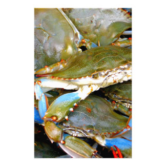 Blue Crab Stationery