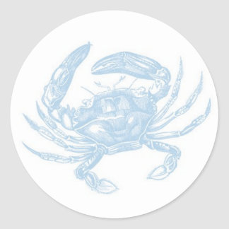 Blue Crab Sticker