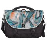 Blue Crabs Design Laptop Messenger Bag
