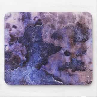 Blue Cracked Plaster Mouse Pad