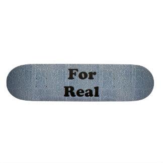Blue Crackle Skateboard