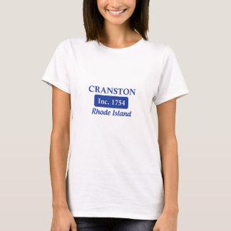 Blue Cranston Rhode Island T-Shirt