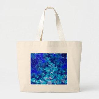 Blue Crash Abstract Bag