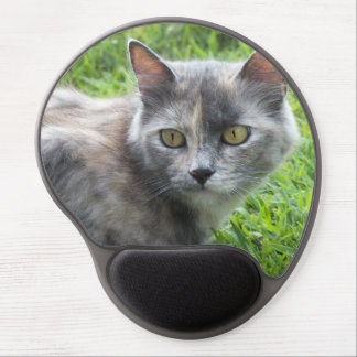 Blue Cream -Tortie Kitty Gel Mouse Pad