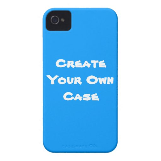 Blue Create Your Own Case Iphone 4 Case Mate Cases Zazzle