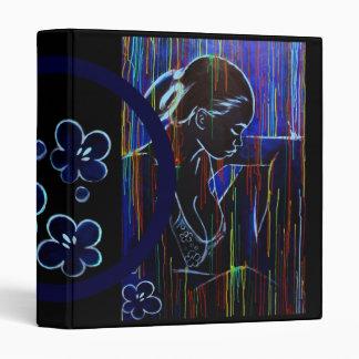 blue creole rain with sakura binder