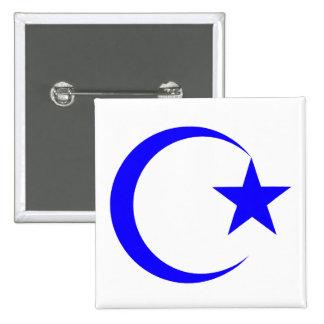 Blue Crescent & Star.png Pins