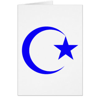 Blue Crescent & Star.png Card