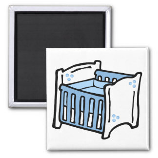 blue crib magnet