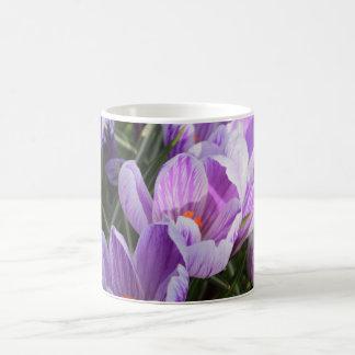 blue crocuses coffee mug