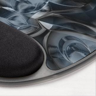 Blue Crome Gel Mouse Pad