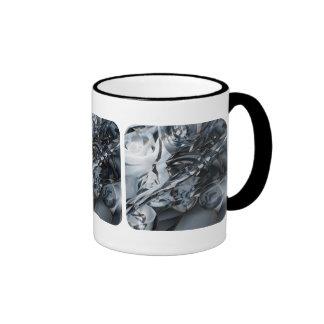 Blue Crome Mug