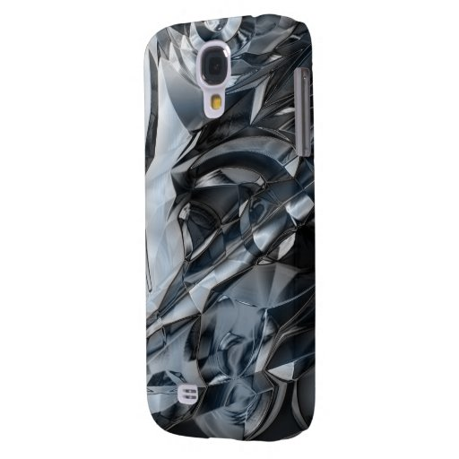 Blue Crome Samsung Galaxy S4 Cover