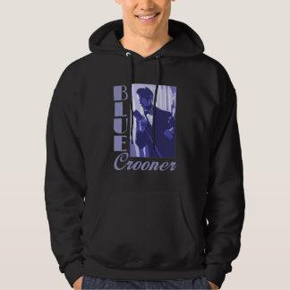 Blue Crooner Dark Hoodie (unisex)