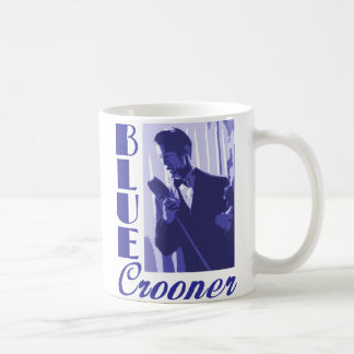 Blue Crooner Mug